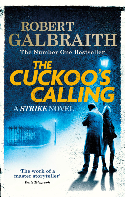 Robert Galbraith The Cuckoo's Calling cover