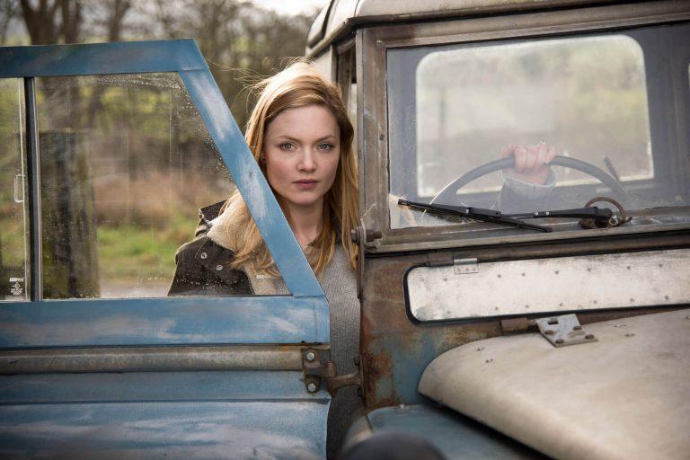 Robin Ellacott in Land Rover