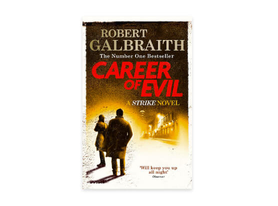 Career of Evil by Robert Galbraith Book cover
