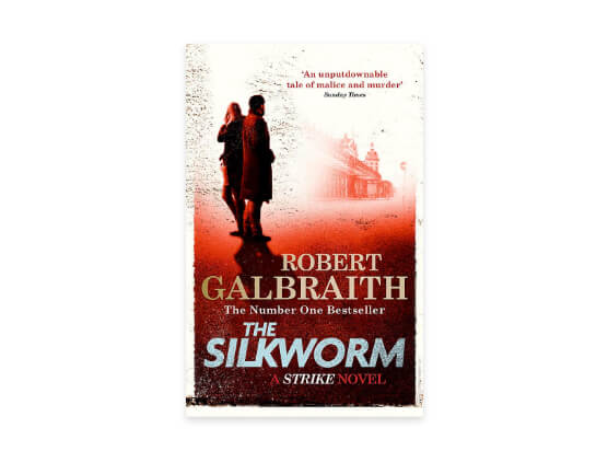 The Silkworm novel book cover