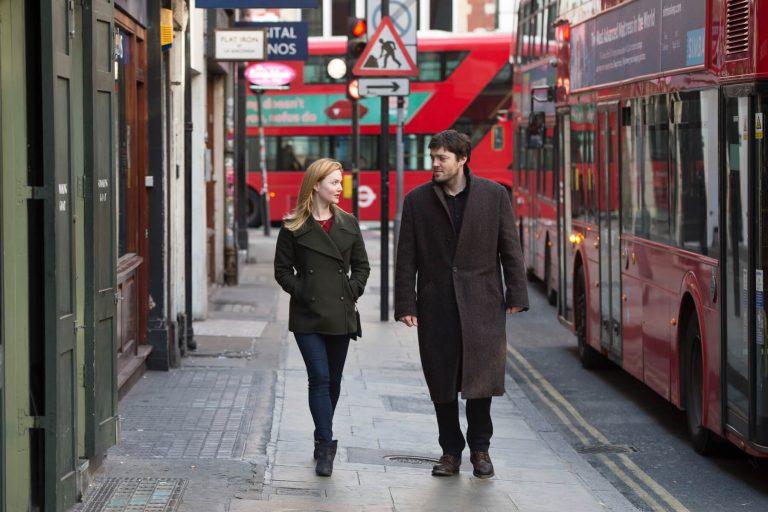 London scene The Strike