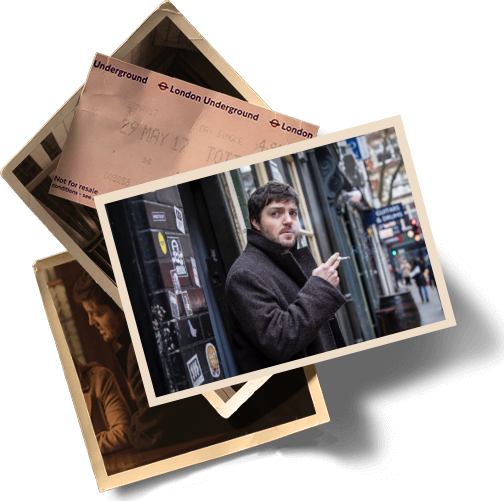 Cormoran Strike book photos