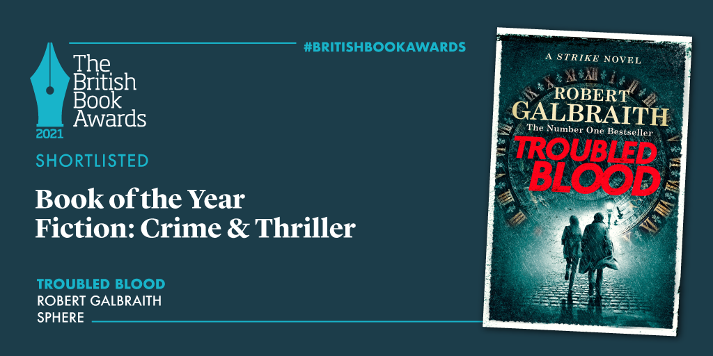 The British Book Awards - Troubled Blood