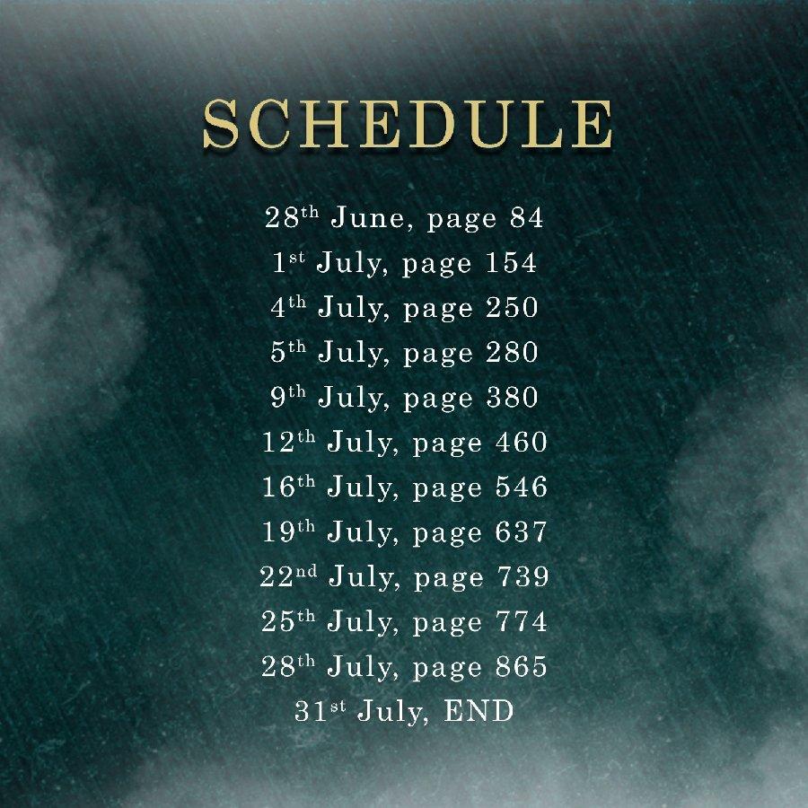 TB schedule